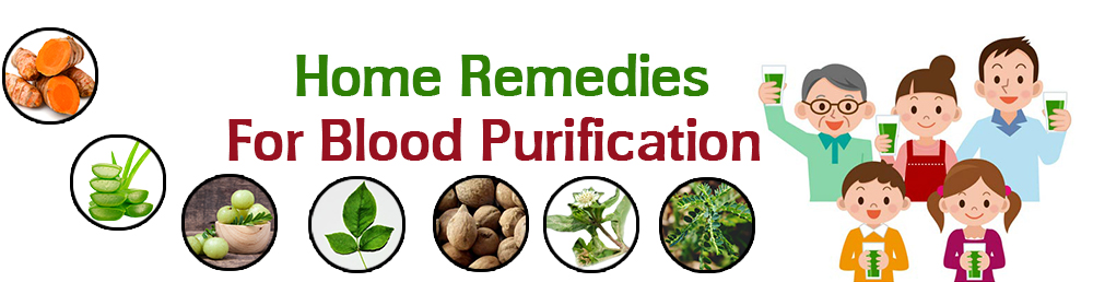 Blood Purfier home Remedies